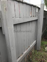Securely Construct And Attach A Fold Out Clothesline To Two Existing Fence Posts 258676 Builderscrack