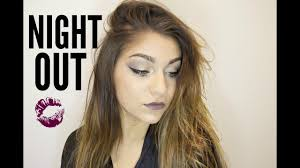 night out make up tutorial andrea