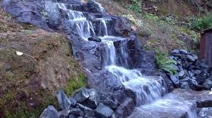 12 foot homemade waterfall home made