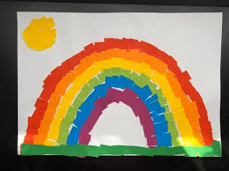 The rainbow paintings by Surrey children brightening up our ...