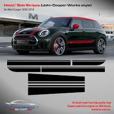 Mini John Cooper Work Style Stripes