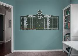 Chicago Cubs Fan Prove It Put Your Passion On Display With A Giant Chicago Cubs Scoreboard Fathead Wall Decal Cubs Decor Cubs Room Chicago Cubs