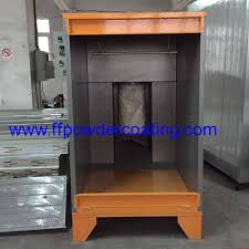 small powder coating booth from china