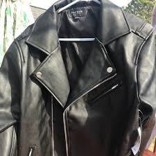 leather biker jacket pac sun