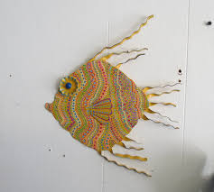 wall art fish outdoor metal digital