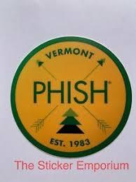 Phish Vermont Est 1983 Sticker Water Bottle Laptop Tumbler Vinyl Decal Ebay