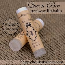 homemade beeswax lip balm free