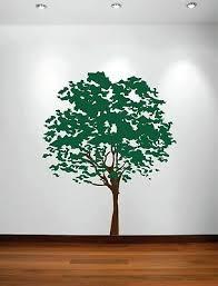 Olive Tree Forest Large Wall Decal Nursery Bedroom Kids Sticker Art Leaves 1117 Ebay