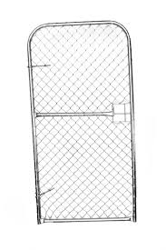 Diamond Mesh Gate Cashbuild