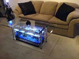spectacular diy fish tank coffee table