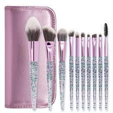 professional makeup brush sets acrylic