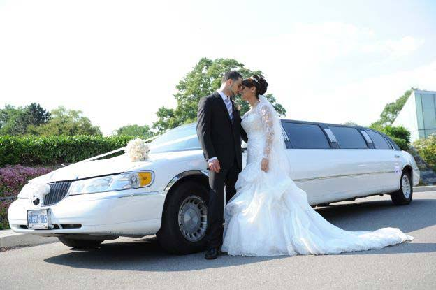 Image result for wedding limo service""