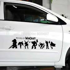 New Style Decoration Car Acccessories World Warcraft Reflective Stickers Car Whole Body Decals Reflective Sticker Sticker Cardecoration Car Aliexpress