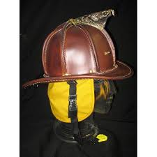 leather fire helmet cairns n5a new