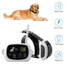 Wireless Remote Dog Fence System Pet Electronic Fencing Device Waterproof Dog Training Collar Electric Shock 0 100 Levels Kd 661 Shock Dog Collar Fence Systemdog Fence System Aliexpress