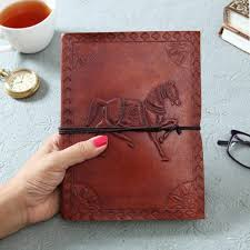 leather embossed design er with