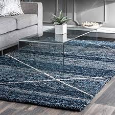 diamond trellis blue area rugs