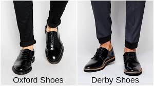 wear derby shoes for a dapper look