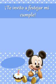 Semana De Cumples Mickey Mouse Bebe Cumple Mickey Bebe