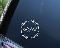 God Is Greater Than The Highs And Lows Decal Etsy