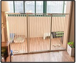Qianda Baby Gates Pet Dog Gate Extra Tall 120cm Strong Gate For Big Dogs Safety Fence Fits Doors All Width 69 200cm Color White Size 139 145cm Amazon Co Uk Kitchen Home