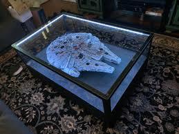 ucs millennium falcon coffee table