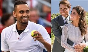 Tennis bad boy Nick Kyrgios takes a swipe rival Rafael Nadal by ...