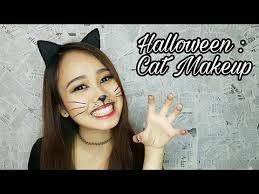 easy cat makeup tutorial karneval