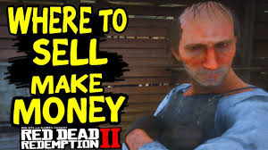 red dead redemption 2 how to sell