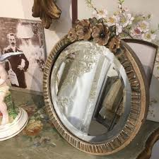 vintage barbola mirror in frames mirrors