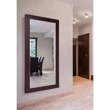 dark mahogany double vanity mirror