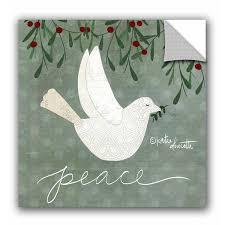 The Holiday Aisle Dove Wall Decal Wayfair