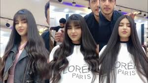 الشعر الطويل احدث قصات الشعر 2020