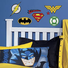 Amazon Com Roommates Rmk2749scs Dc Superhero Logos Peel And Stick Wall Decals Multicolor Home Improvement