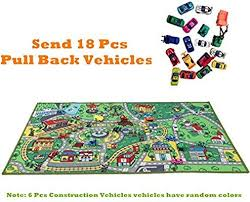 jackson kid rug car playmat with roads