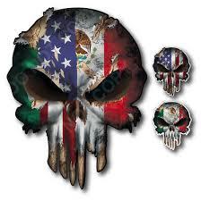 1x Mexico Flag Car Decal Mexican Flag Decal 5875