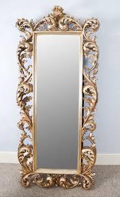 rococo bridal mirror
