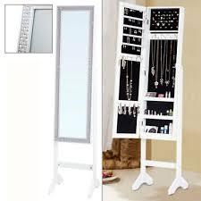 full length mirror jewellery cabinet