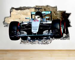 Lewis Hamilton Wall Stickers