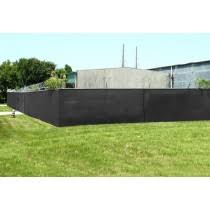 Eagle Industries Pf 78150 Blk Black 7 8 X 150 Privacy Fence Screen With Button Holes