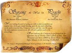bengali marriage invitation cards