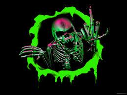 44 live skull wallpaper for pc on