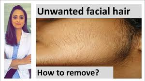 how to remove hair unwanted