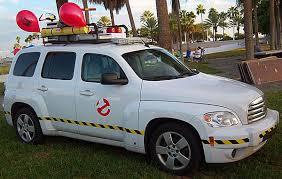 Ghostbuster Movie Fans Build Modern Ecto 1 Car