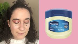eye shadow brighter with vaseline