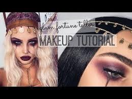 makeup make circus fortune teller