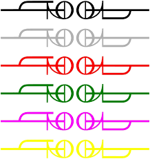 Oracal Tool Logo 2019 Vinyl Decal Die Cut Sticker Rock Band Bogo