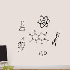Zoomie Kids Chemistry Wall Decal Wayfair