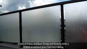 5 modern glass balcony railing design