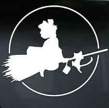 Kiki S Delivery Service Anime Miyazaki Vinyl Decal Car Truck Window Sticker Ebay